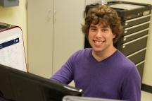 Matthew Zarachoff, undergraduate student