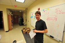 Brandon Doull, MS Physics, option Medical Physics, Oklahoma State University, 2013