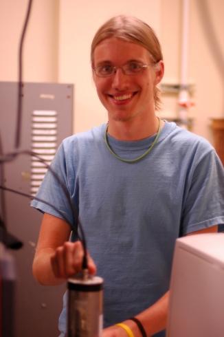 James Hazelton, undergraduate student