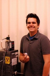 Mathew Rodriguez, MS Physics, Oklahoma State University, 2010